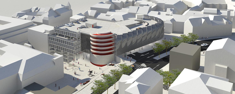 H2O Architekten Paderborn Parkhaus
